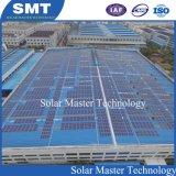 Toit de métal brides de fixation de l'énergie solaire pour les systèmes de montage solaire
