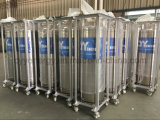 Industrieller Dewar-flüssiger Sauerstoff-Stickstoff-Argondewar-Zylinder