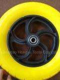바퀴 무덤 PU 거품 바퀴 공장