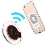 2018 Qi Fast Carregador Sem Fio para iPhone X e o LED de cristal de telemóveis Samsung Carregador Sem Fio