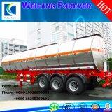 3車軸42000litersアルミニウムオイルのガソリン燃料のタンカー