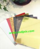 Folha de cor duplo ABS gravura ABS Plástico ABS folhas coloridas a laser duplo