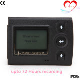 3チャネルMini ECG Holter Recorder Upto 72 Hours記録ステラ