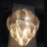 Lampada Pendant di Fluorescen della fetta di vetro del salone di alta qualità
