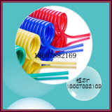 15 m 8 mm Blue Plastic PU Spiral Hose