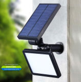 Luces accionadas solares al aire libre de la pared exterior LED