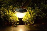 태양 잔디밭 정원 램프 12V LED 옥외 장식적인 포스트 안마당 빛