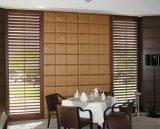 2018 Home Decor Couleur personnalisée volets de bois de plantation coulissante