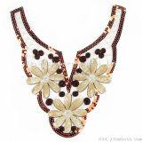 Branelli Sequined del tessuto del collare del merletto di colori per gli accessori dell'indumento dei vestiti