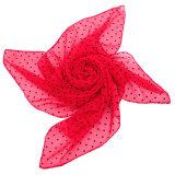 Dots Voile Scarf 2016年の女性および方法正方形のスカーフ