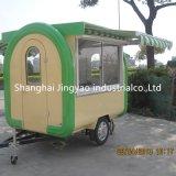 中国のヨーロッパのためにカートの移動式食糧トラックのコーヒーカートを販売する移動式食糧トレーラーのヨーロッパの食糧
