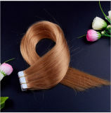最もよいQuality Tape Hair Extensions 100%Human Hair