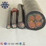 0.6/1 basse tension Kv conducteur de cuivre ou aluminium PVC ou de l'isolant en polyéthylène réticulé 3+2 Câble d'alimentation de base
