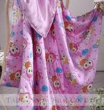 Couro e tecido de seda de classe alta para bebê e criança