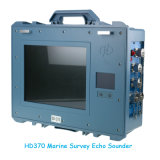 Геодезический морской пехотинец Echosounder производя съемку аппаратуры