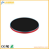 Super тонкого металла быстрое беспроводное зарядное устройство блока W/ индикатор синий индикатор OEM-производителя
