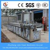Máquina profunda da frigideira do Queixo-Queixo contínuo com transporte de correia