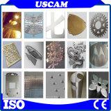 As placas metálicas de aço inoxidável cobre a folha de alumínio máquina de corte Plasma CNC com mesa de Água