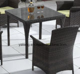 رخيصة مجموعة [ب-رتّن] خارجيّة حديقة أثاث لازم يتعشّى مجموعة مع كرسي تثبيت & طاولة ([يت026&تد446-4])