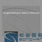 Textura de aço Prepainted em metal escovado