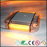 Luces de señal de tráfico Estroboscópico LED Ámbar Advertencia de emergencia Mini barra de luz estroboscópica Base magnética
