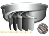 Fry antiaderante Pan Copper Core 5ply Body Pan