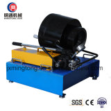Fácil operar o frisador/câmara de ar manuais da mangueira que trava a máquina