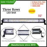 32pouces 200W Triple Lignes 4X4 barre lumineuse à LED LED conduite hors route Bar Barre de conduite
