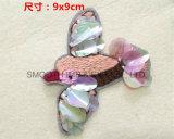 Accessoires colorés fabriqués à la main de connexion de Sequin de birdie de fleur de décoration de vêtement de mode