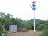 Gerador de turbina de vento de eixo vertical de 1kw com controlador de 48V CC