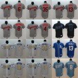 Ha personalizzato tutto il nome qualunque no. Qualsiasi pullover di baseball di Kansas City Royals Hosmer di marchio della squadra