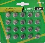 1,5-AG13 LR44 щелочной батареи таблеточного