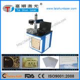 Máquina da marcação do laser da fibra para o cartão de banco, cartão do SD