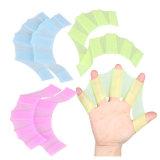 Палец Webbed перчатки правой пластины шестерни Palm Flippers лопасть