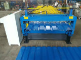 machine à profiler de feuille de toit à double couche