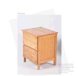 Bamboo деревянные локеры шкафа с 3 ящиками