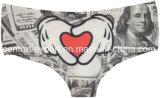 Nueva impresión del diseño 3D para señora Sexy Panties