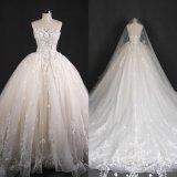 Без бретелек мантия платьев венчания Bridal сделанная в Китае Qh66004