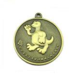 Medalha personalizada com logotipo gravado