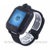 3G/WiFi GPS van jonge geitjes het Horloge van de Drijver met Camera van de Omwenteling 3.0 D18