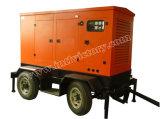 CE/ISO/CIQの20kVA~250kVA防音のTralierの移動式発電機