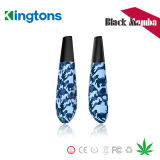 Pluma seca de la hierba del vaporizador de Kingtons de la pluma de Ecigs de la mamba al por mayor del negro para el almacén de Vape