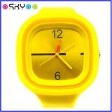 De Horloges van de Gelei van het Silicone van de Gift van de Bevordering van het Embleem van het Merk van de douane (P6701)