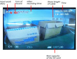 Sistema de CCTV Subaquático Plumbler para limpeza de esgotos do tubo de câmera DVR