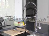 Retirant le robinet sanitaire de cuisine d'articles de l'acier inoxydable 304 (AB136)