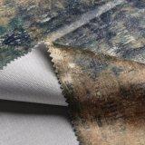 De de afgedrukte TextielBank van het Huis van de Stoffering en Stof van het Kussen