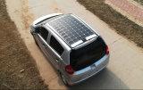 Economia de energia eléctrica veículo de 4 rodas com Teto Solar