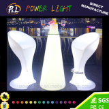 Batterie au lithium rechargeable LED Furniture LED Bar Table & Stool