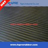 Обширная Ribbed резиновый циновка настила/циновка черноты обширная Ribbed резиновый