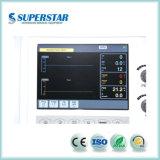 Trattamento di ICU ventilatore S1600 del superstar dello schermo di colore di 10.4 pollici